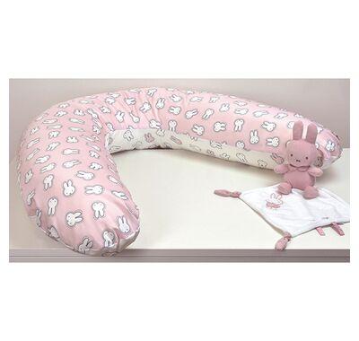 Μαξιλάρι θηλασμού Miffy σχέδιο 52 ροζ στο Bebe Maison