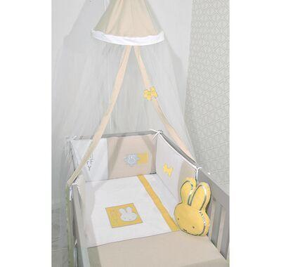 Σετ προίκας μωρού Miffy 3τμχ σχέδιο 64 μουσελίνα μπεζ στο Bebe Maison