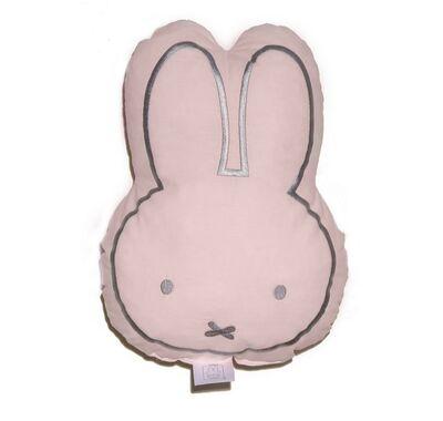 Μαξιλάρι διακοσμητικό Miffy 52 ροζ με κέντημα στο Bebe Maison