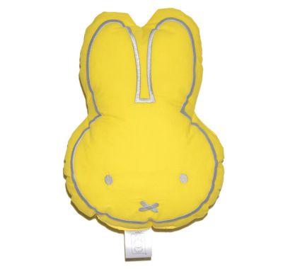 Μαξιλάρι διακοσμητικό Miffy 54 κίτρινο με κέντημα στο Bebe Maison