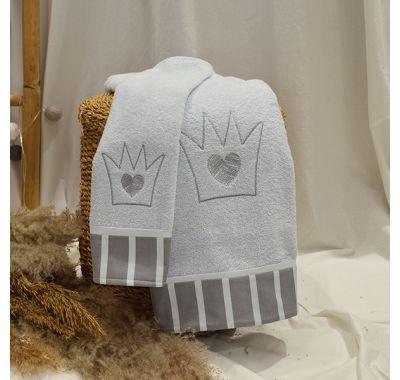 Σετ πετσέτες 2τμχ ABO little prince στο Bebe Maison