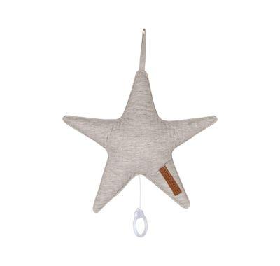 Μουσικό αστέρι Little Dutch pure grey 27 Χ 27 στο Bebe Maison