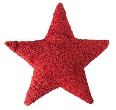 Μαξιλάρι Lorena Canals SC-ST-R αστέρι κόκκινο στο Bebe Maison