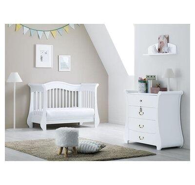 Βρεφικό κρεβατάκι - καναπές Pali Tulip Baby white στο Bebe Maison