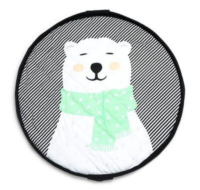 Play & Go Στρώμα παιχνιδιού μαλακό - Τσάντα 2 σε 1 Πολική αρκούδα στο Bebe Maison