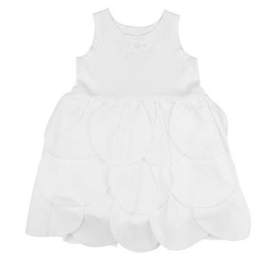 "Παιδικό φόρεμα The Tiny Universe ""The Tiny Circles Dress"" Off -White στο Bebe Maison"