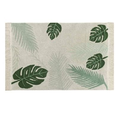 Παιδικό χαλί Lorena Canals Plants Tropical Green 140x200 στο Bebe Maison