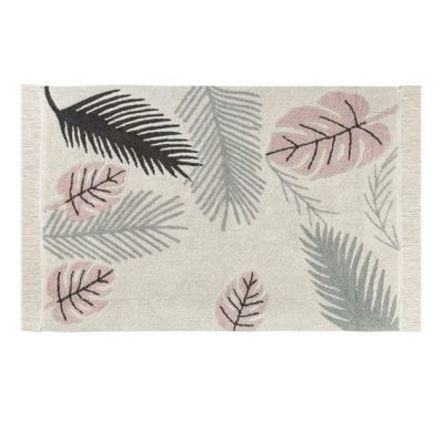 Lorena Canals. Χαλί δωματίου Plants Tropical Pink. 140X200 στο Bebe Maison