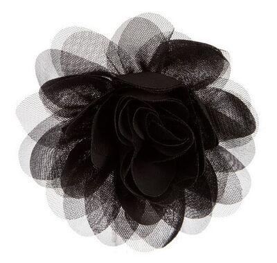 """Αξεσουάρ για τα μαλλιά The Tiny Universe """"Flower"""" All Black στο Bebe Maison"""