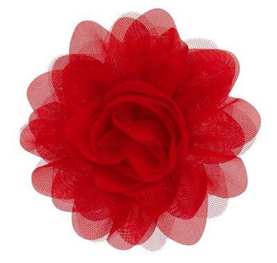 """Αξεσουάρ για τα μαλλιά The Tiny Universe """"Flower"""" Sharp Red στο Bebe Maison"""