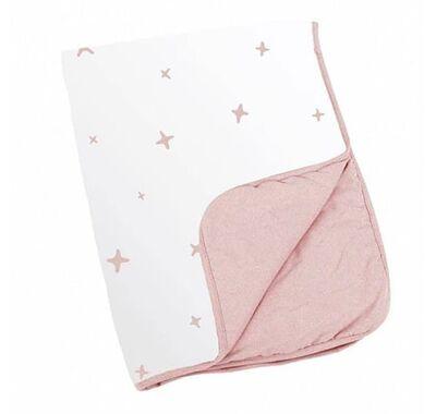 Κουβέρτα Doomoo Dream 75x100 Stars Pink στο Bebe Maison