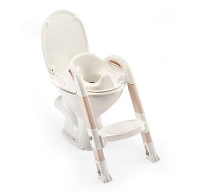 Στεφάνι WC με σκαλοπάτι Thermobaby Kiddyloo Toilet Trainer Brown στο Bebe Maison