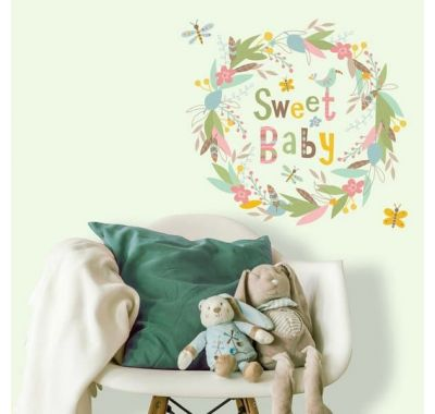 "Roommates Αυτοκόλλητα τοίχου ""Sweet baby"" στο Bebe Maison"