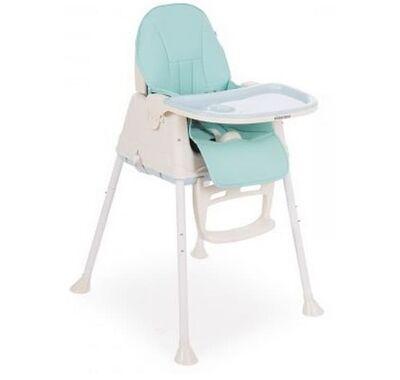 Καρέκλα φαγητού Kikka Boo 2 σε 1 Creamy Light Blue στο Bebe Maison