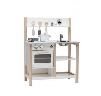 Kids Concept Κουζίνα παιχνιδιού (λευκό) στο Bebe Maison