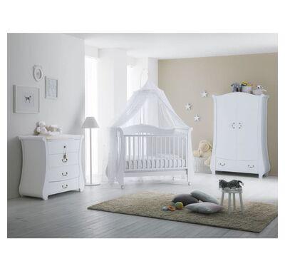 Ολοκληρωμένο βρεφικό δωμάτιο Pali Tulip Baby white στο Bebe Maison
