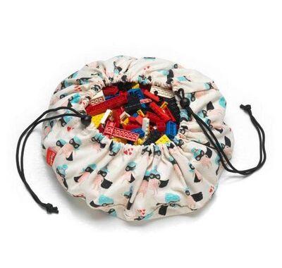 Play & Go Στρώμα παιχνιδιού - τσάντα 2 σε 1 Mini Supergirl στο Bebe Maison