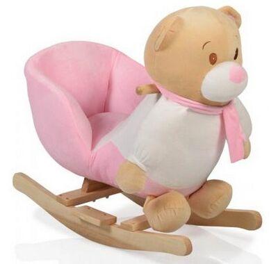 Κουνιστό ζωάκι Cangaroo Bear Pink στο Bebe Maison