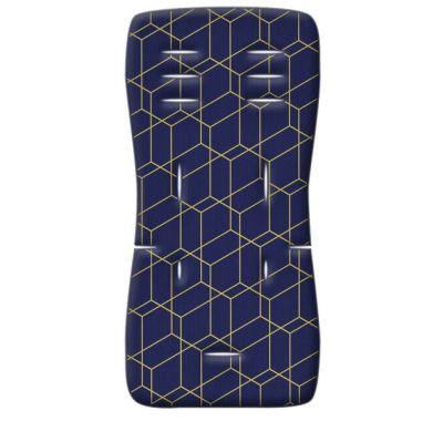 Στρωματάκι καροτσιού Grecostrom 3D Fiber Honey Comb μπλε στο Bebe Maison
