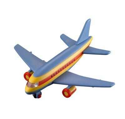 Αεροπλάνο επιβατικό μεσαίο Mic-O-Mic πολύχρωμο στο Bebe Maison