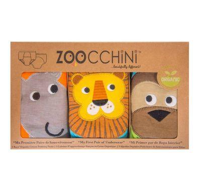 Εκπαιδευτικά βρακάκια Zoocchini Boys Safari Friends 3 τεμ στο Bebe Maison