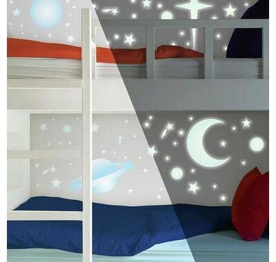 Αυτοκόλλητα τοίχου RoomMates φωσφορίζοντα Πλανήτες στο Bebe Maison
