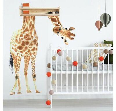 Αυτοκόλλητα τοίχου RoomMates Να η καμηλοπάρδαλη στο Bebe Maison