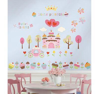 Αυτοκόλλητα τοίχου RoomMates Cupcake Land στο Bebe Maison