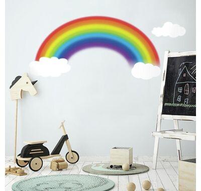 Αυτοκόλλητα τοίχου RoomMates Ουράνιο τόξο στο Bebe Maison