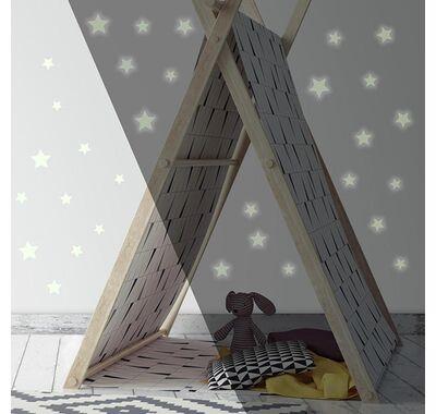 Αυτοκόλλητα τοίχου RoomMates φωσφορίζοντα Αστεράκια στο Bebe Maison
