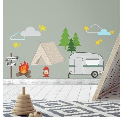 Αυτοκόλλητα τοίχου RoomMates Camping στο Bebe Maison