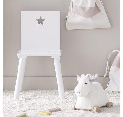 Καρεκλάκι Kids Consept Star (λευκό) στο Bebe Maison