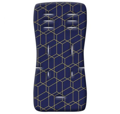 Στρωματάκι καροτσιού Grecostrom Memory Foam Honey Comb μπλε στο Bebe Maison