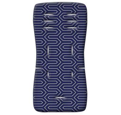 Στρωματάκι καροτσιού Grecostrom Memory Foam Maze μπλε στο Bebe Maison