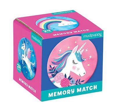 Παιχνίδι μνήμης 24 κομματιών Mudpuppy Μονόκεροι στο Bebe Maison