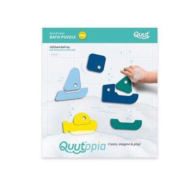 Παιχνίδι μπάνιου παζλ Quutopia βαρκάκια στο Bebe Maison