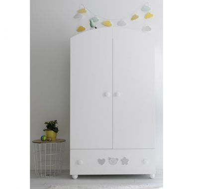 Βρεφική ντουλάπα Pali Birillo λευκό στο Bebe Maison