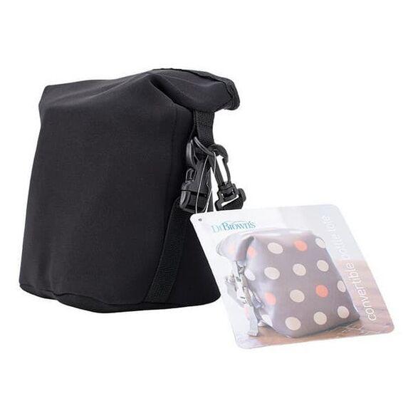 Ισοθερμική τσάντα μεταφοράς μπιμπερό Dr Brown's Black στο Bebe Maison