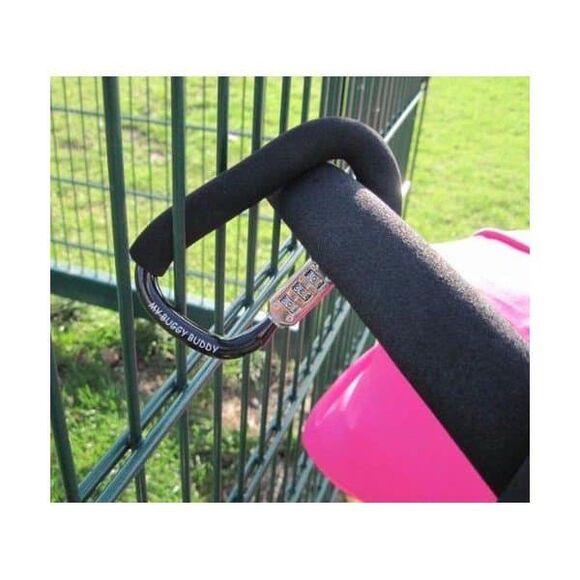 Κλειδαριά My Buggy Buddy χρώμα μαύρο στο Bebe Maison