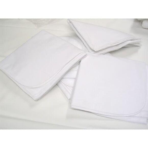 Πάνες αγκαλιάς φανέλα λευκές με κοπτοράπτη Bebe Maison στο Bebe Maison