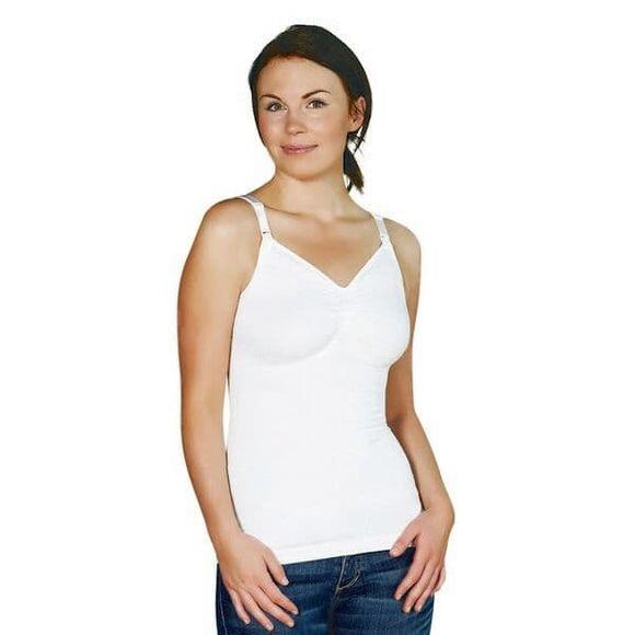 Τοπ θηλασμού Carriwell χωρίς ραφές S, M, L, XL Λευκό στο Bebe Maison