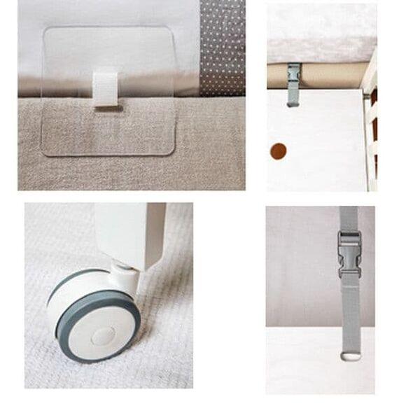 Λίκνο Picci Lella 2 σε 1 χρώμα λευκό στο Bebe Maison