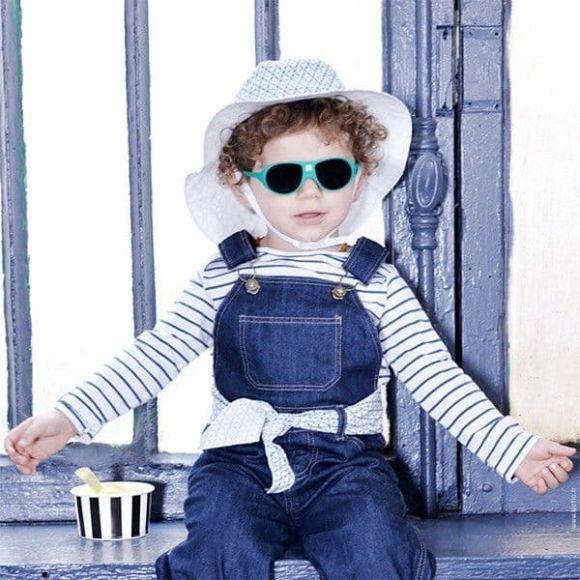 Γυαλιά Ηλίου Kietla Jokala  2-4 ετών Cream στο Bebe Maison