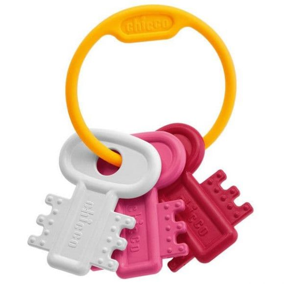 Chicco χρωματιστά Κλειδιά Ροζ στο Bebe Maison