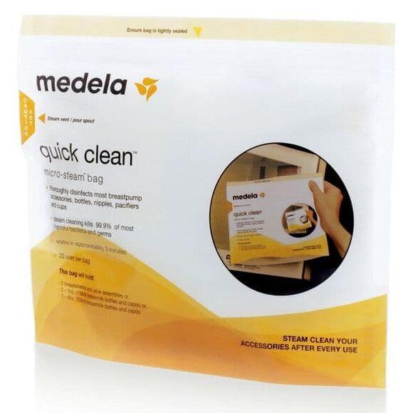 Medela Quick Clean Σακουλάκια Αποστείρωσης Φούρνου Μικροκυμάτων 5 τμχ στο Bebe Maison