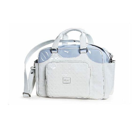 """Τσάντα αλλαξιέρα Picci από τη συλλεκτική σειρά Dili Best """"Candy white/blue"""" στο Bebe Maison"""