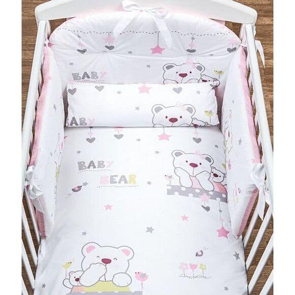 Σετ προίκας Picci 3τμχ σχέδιο Mami printed pink στο Bebe Maison