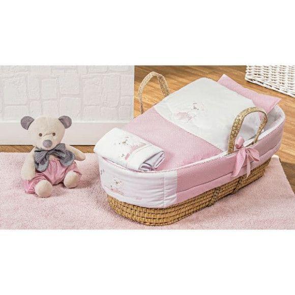 Καλαθούνα Picci σχέδιο Mami pink στο Bebe Maison
