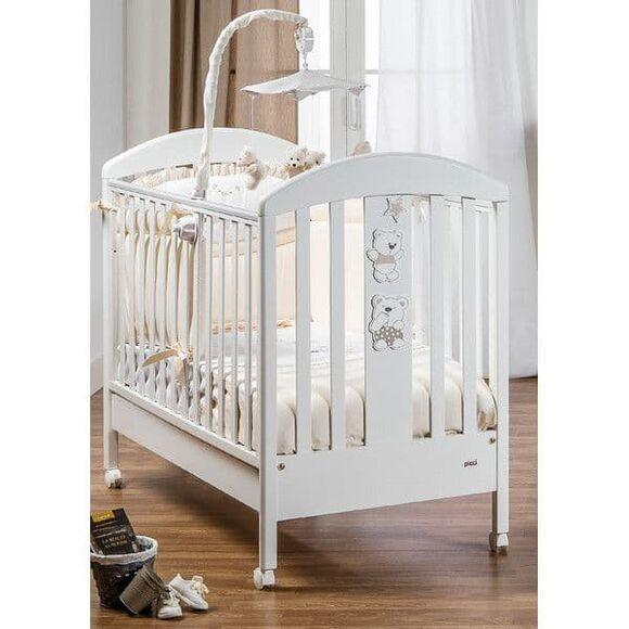 Βρεφικό κρεβάτι Picci σχέδιο Mami beige στο Bebe Maison