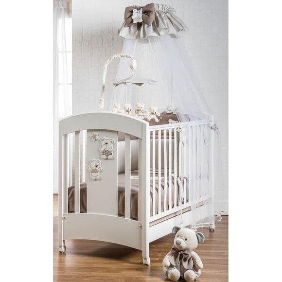 Βρεφικό κρεβάτι Picci σχέδιο Mami Lux beige στο Bebe Maison